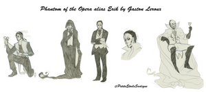 Phantom of the Opera alias Erik (cartoon) by GL