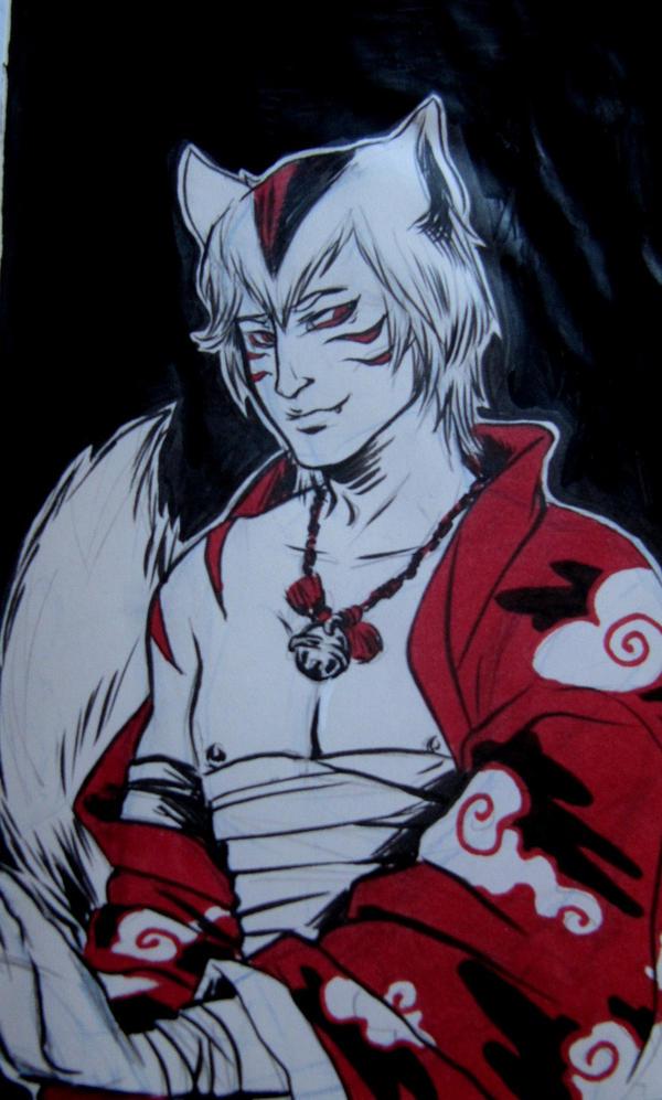Nyanko sensei alias Madara: human form by PetiteEtoileSadique on ...