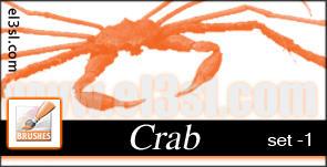 el3sl -  Crab SET1 Brushes by xUAEx
