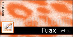 el3sl-Animal Print SET1 Brushe by xUAEx
