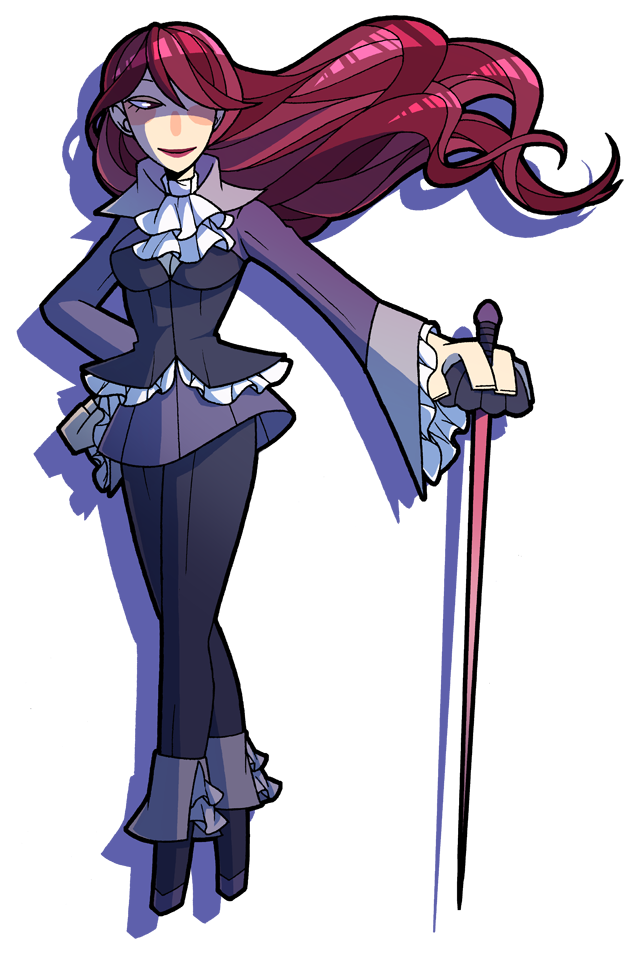 Persona Magica - Mitsuru by Kiwifie