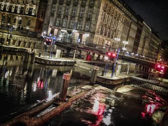 Rathausschleuse Hamburg by mprove