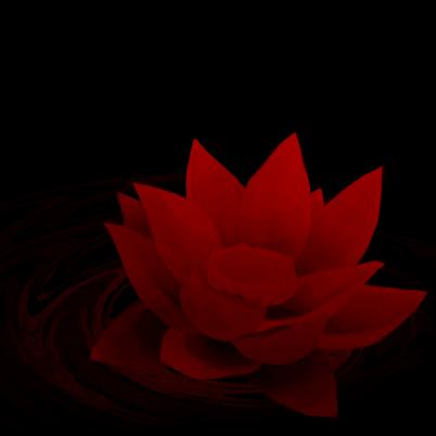Red Lotus Flower By Mmmegh On Deviantart