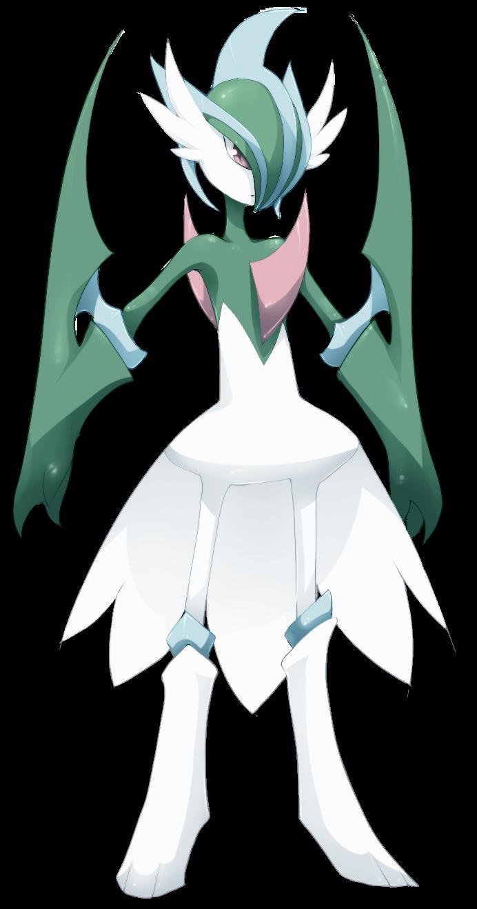 Pokemon - Mega Gallade by mmmegh