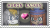 Auron and Lairen Stamp by KTWizard