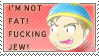 Cartman's F Word Stamp by KTWizard