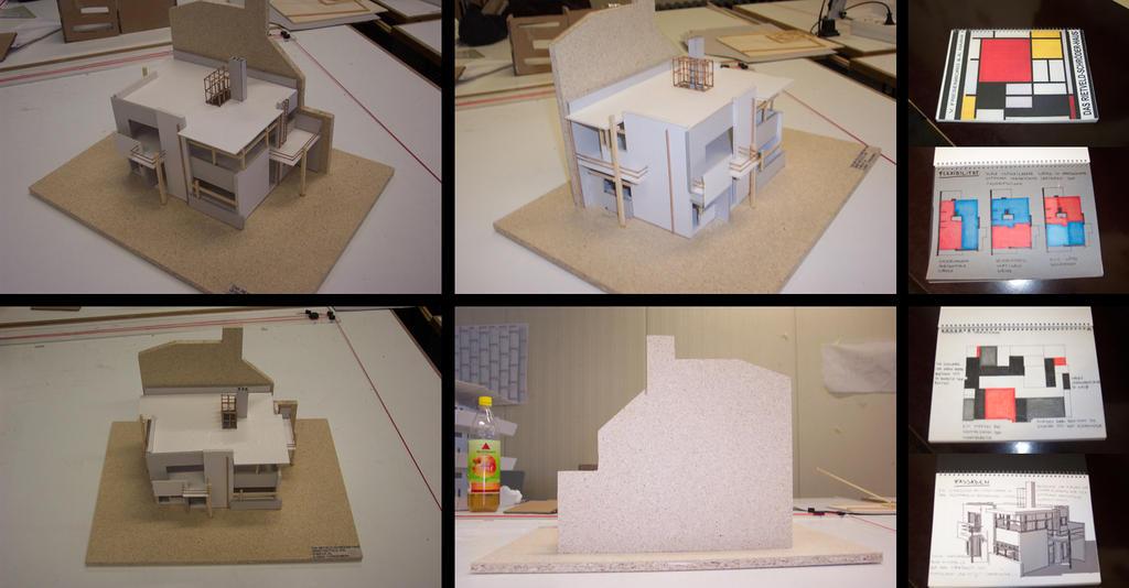 rietveld schroeder haus by hasko on deviantart. Black Bedroom Furniture Sets. Home Design Ideas