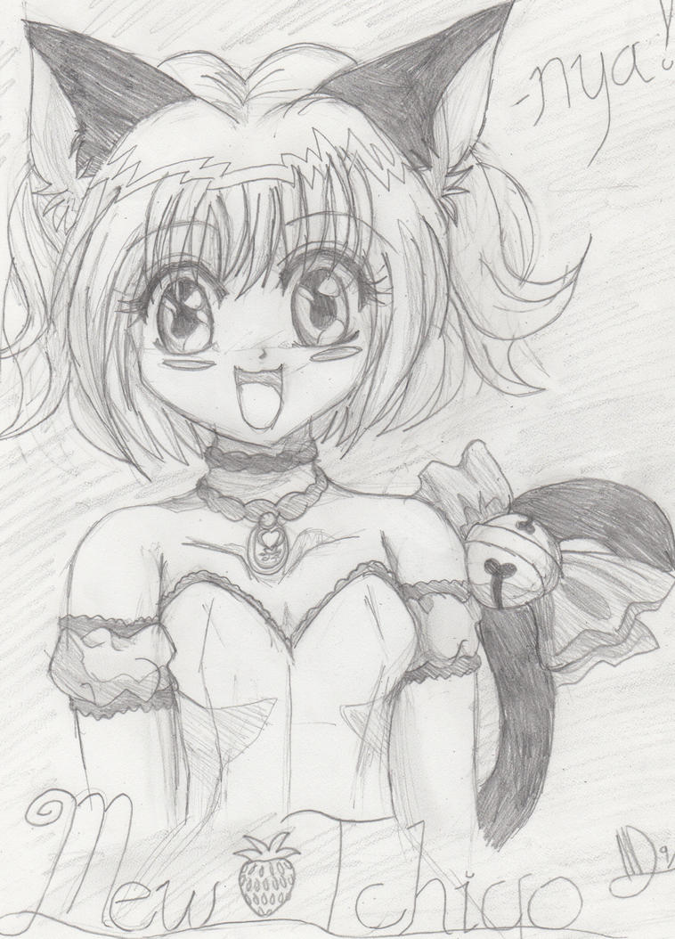 tokyo mew ichigo coloring pages - photo#33