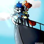 I'm flying Izzy!