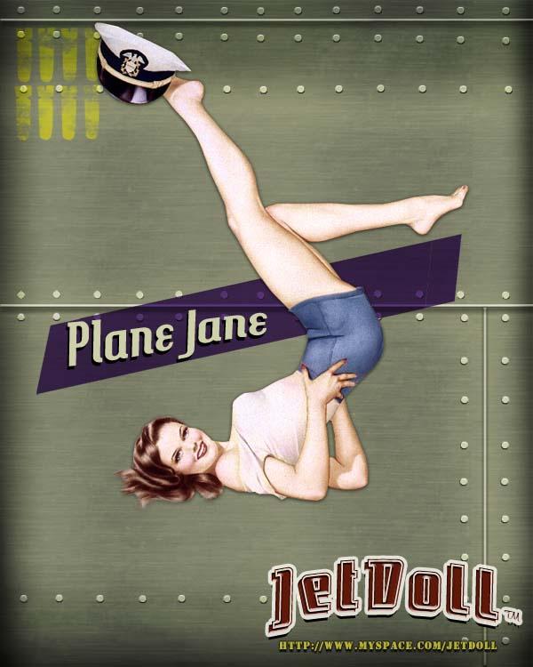 JetDoll: Plane Jane by Sue-Nami