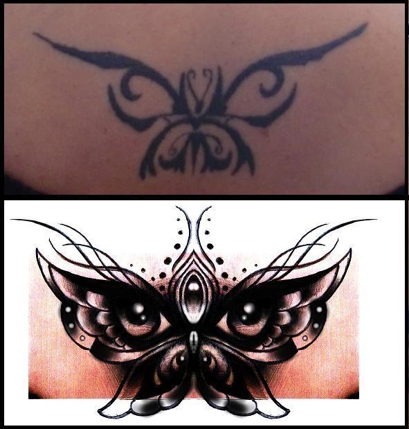 butterfly eyes cover up design by thirteen7s on deviantart. Black Bedroom Furniture Sets. Home Design Ideas