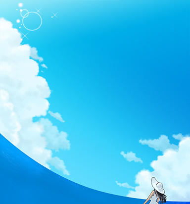 sky and sea by yuzo-tope