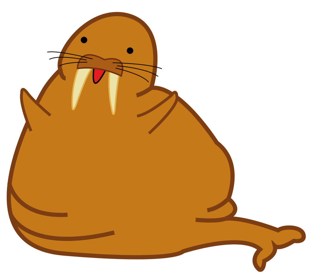 Fat walrus cartoon - photo#1