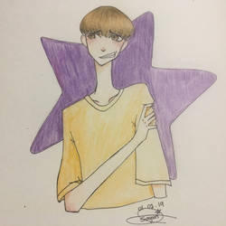 PROMPTS #1: Scrawny, Awkward Teenager by AcreaPiltOver