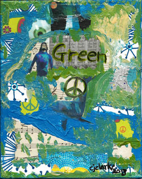 Green Peace Collage