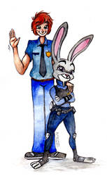 Request: Officer Mark and Judy Hopps