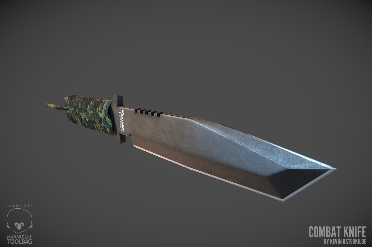 Futuristic Bowie Knife