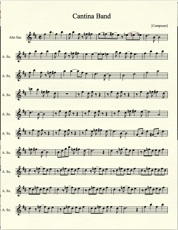 Doctor Who Theme for Alto Sax by MrConan42 on DeviantArt