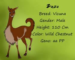 Zazu Ref by TheWolvenEstates