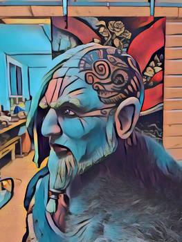 Viking Warchief print