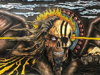 Skull Angel by MacRoth