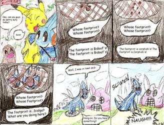 Sentry duty comic by Plaid-pichu