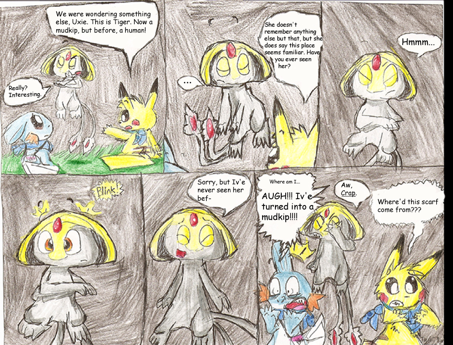 The Uxie Dilemma By Plaid Pichu On Deviantart