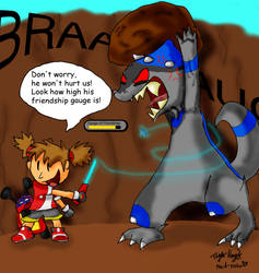 Pokemon Ranger Comic: Capture by Plaid-pichu