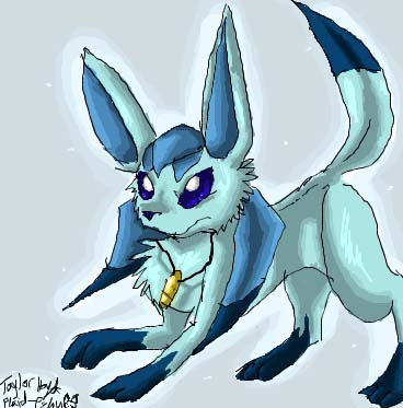 Glaceon – #471 - Fresh Snow Pokémon - veekun