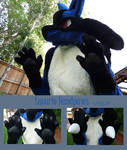 Lucario Cosplay 'handpaws'
