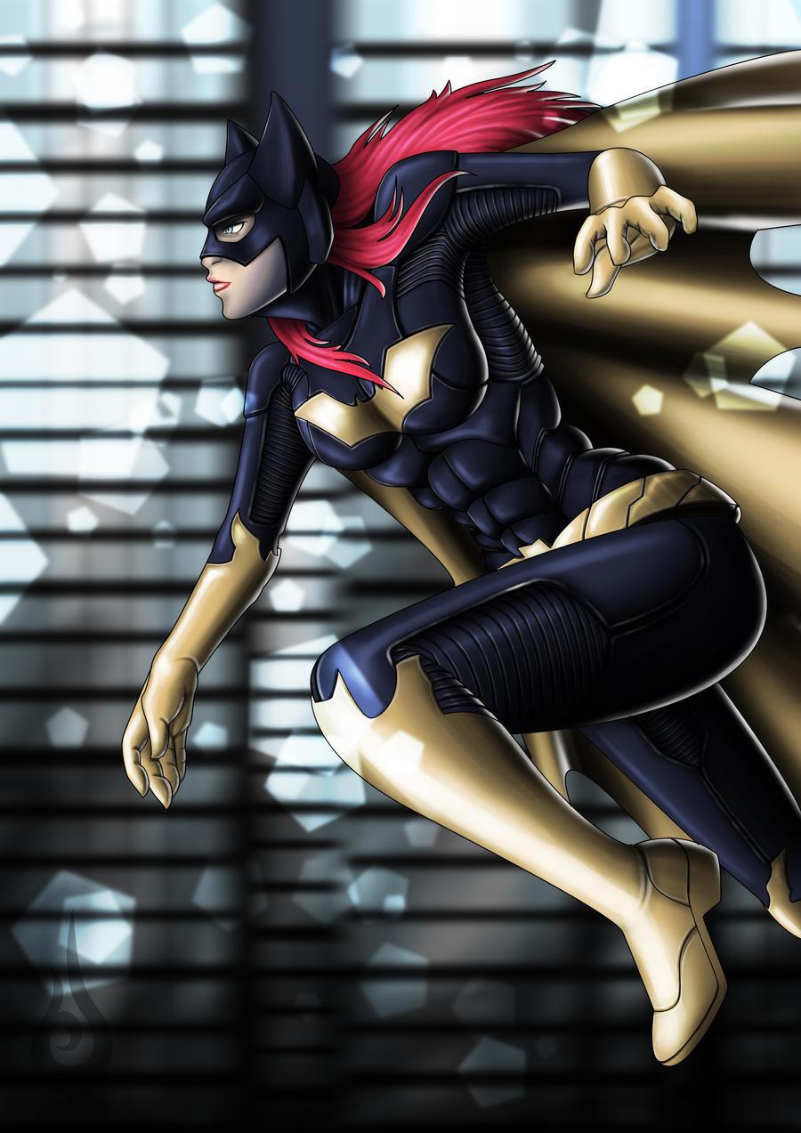 Batgirl by Burnsun