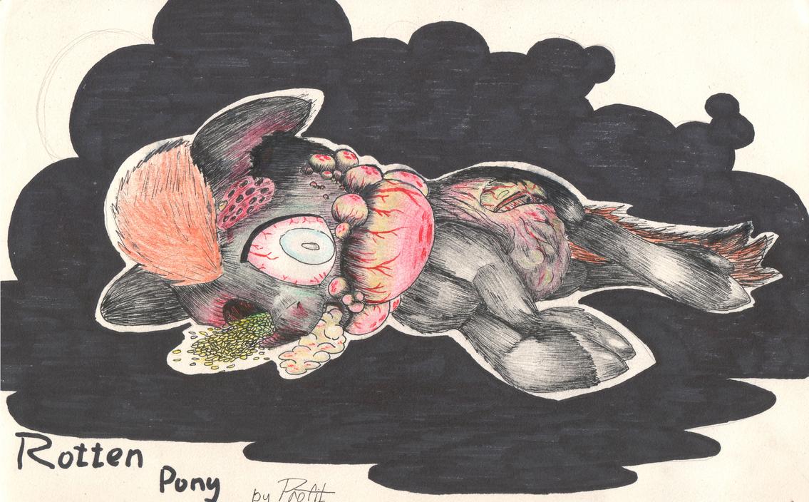 Rotten Pony by Makkron217
