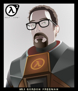 Gordon Freeman by neurovit