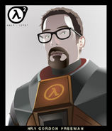 Gordon Freeman by rcpktk
