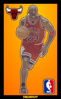 Michael Jordan by rcpktk