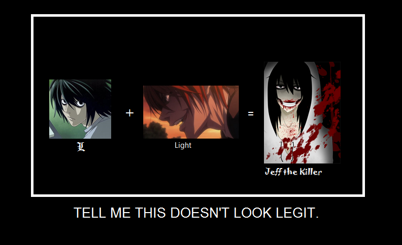 LxLight yaoi = Jeff the Killer by VixenoftheLeaf on DeviantArt