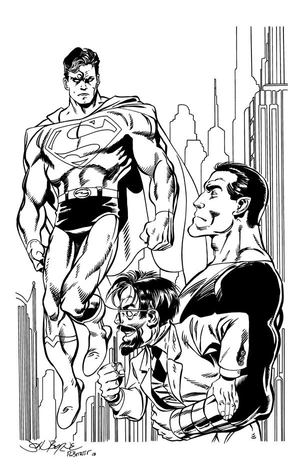 Action Comics by John Byrne by Brower