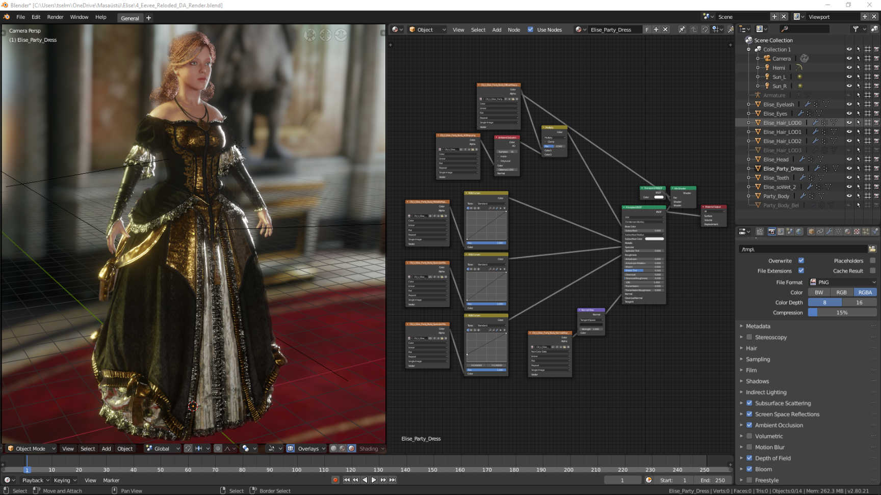 Assassin S Creed Unity Elise S Evening Dress By Tselman61 On
