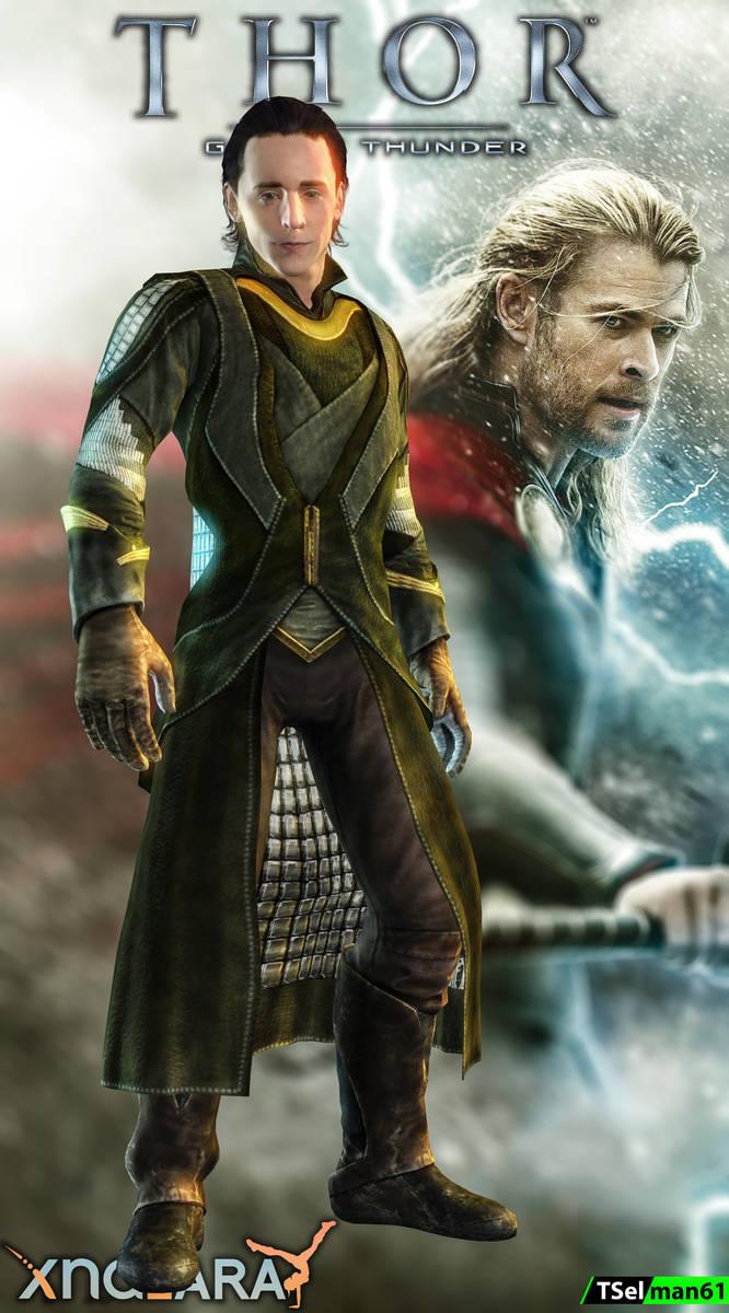 (PS3) Thor: God of Thunder - Loki