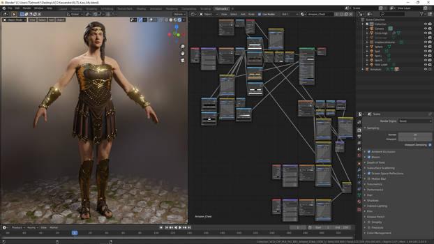 Assassin's Creed: Odyssey- Kassandra Amazon Set