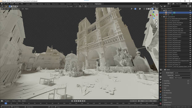 Assassin's Creed: Unity - Front of Notre Dame
