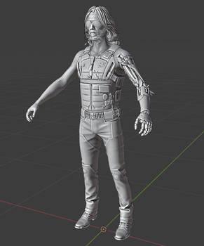 Cyberpunk 2077: Johnny Silverhand