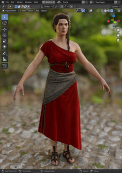 AC: Odyssey - Kassandra Perikles's Symposium Dress