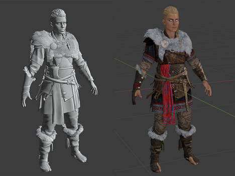 Assassin's Creed Valhalla Eivor - Test