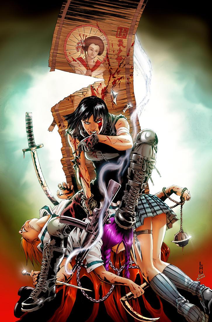 Jennifer Blood-04 cover by Ivan-NES