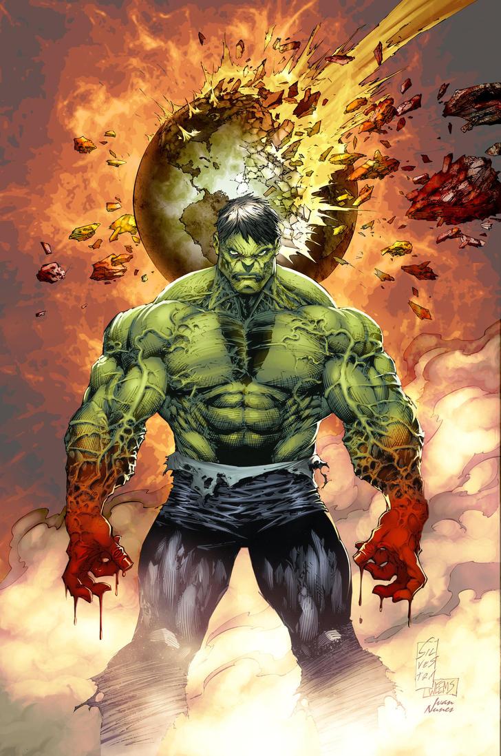 Hulk cover color BattleArtist by Ivan-NES