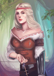 Maria Barring - Milva - The Witcher