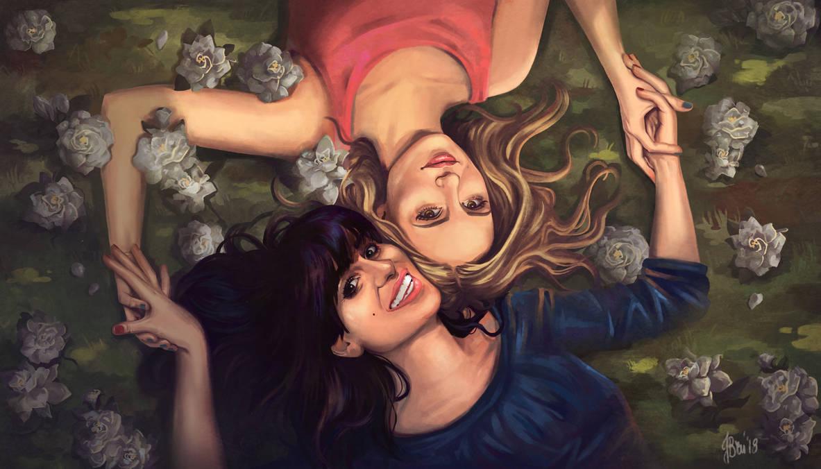 Glee girls by justyna-bien