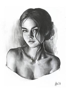 Girl photostudy