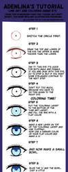 Anime Eye Tutorial by Adenlina